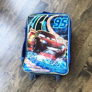 Disney Cars Lightning McQueen Kids Luggage